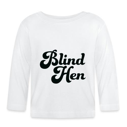 Blind Hen - Logo Lady fit premium, blue - Baby Long Sleeve T-Shirt
