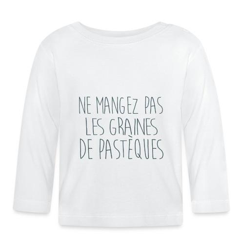 T-Shirt-Femme-Enceinte-personnalise - T-shirt manches longues Bébé