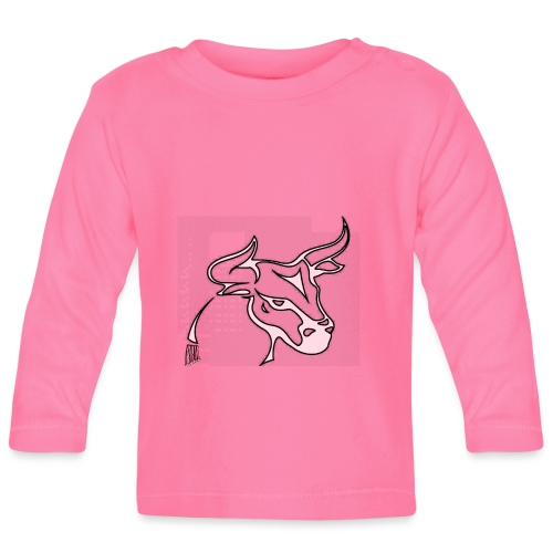 prm design taureau 2 - T-shirt manches longues Bébé