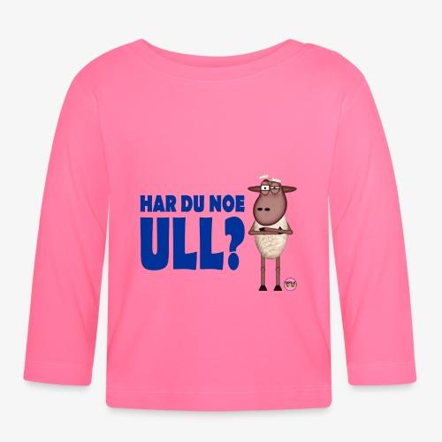 Bæ, bæ, lille lam - Langarmet baby-T-skjorte
