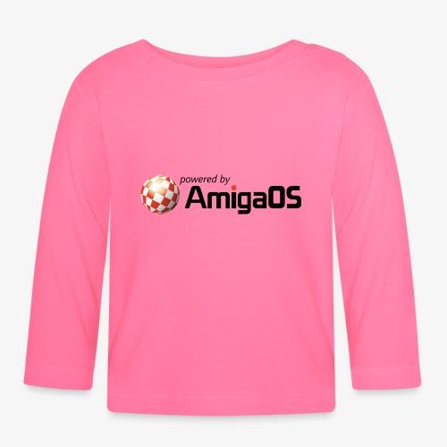 PoweredByAmigaOS Black - Baby Long Sleeve T-Shirt