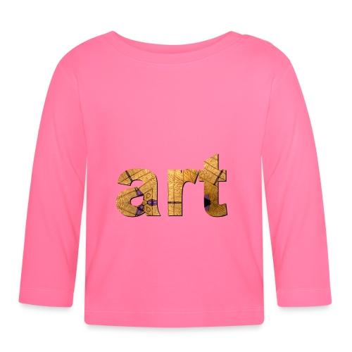 art - T-shirt manches longues Bébé