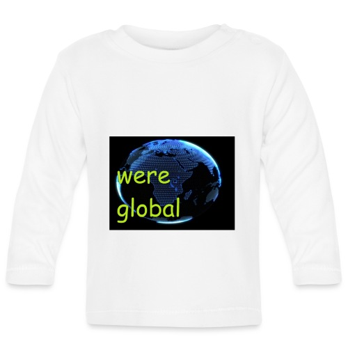 Were Global - Vauvan pitkähihainen paita