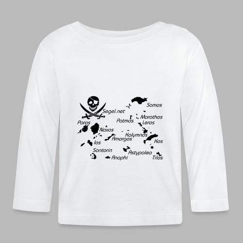 Crewshirt Motiv Griechenland - Baby Langarmshirt