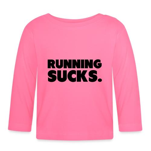 Running Sucks - Vauvan pitkähihainen paita