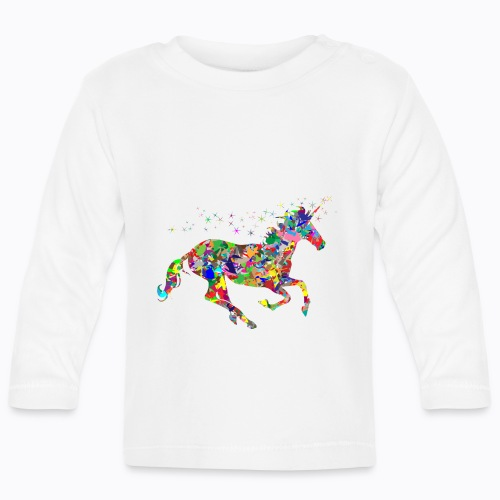 unicorn colorful - Baby Long Sleeve T-Shirt