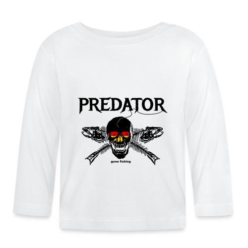 predator fishing / gone fishing - Baby Langarmshirt
