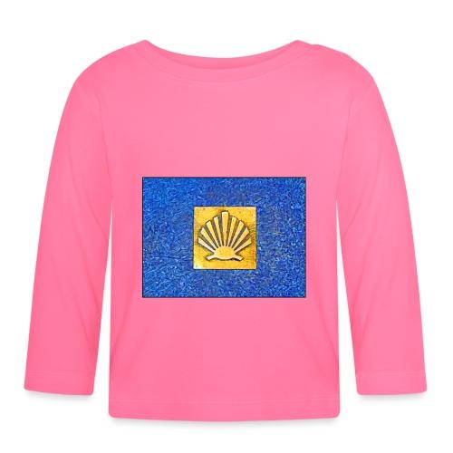 Scallop Shell Camino de Santiago - Baby Long Sleeve T-Shirt