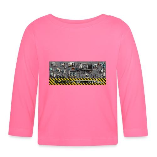 #MarchOfRobots ! LineUp Nr 1 - Langærmet babyshirt