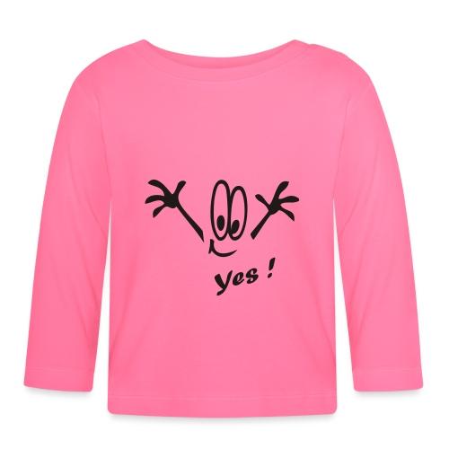 Yes ! Comic - Baby Langarmshirt