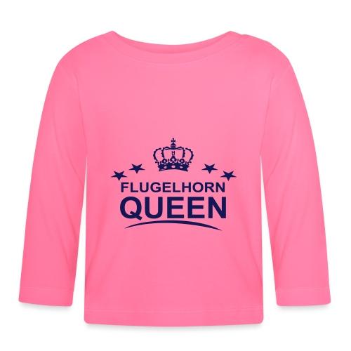 Flugelhorn Queen - Langarmet baby-T-skjorte
