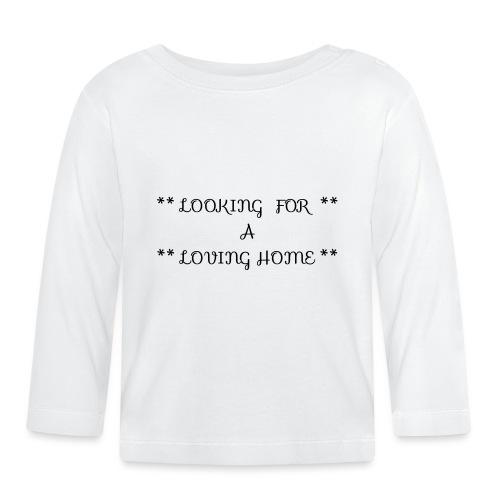Loving home - Vauvan pitkähihainen paita