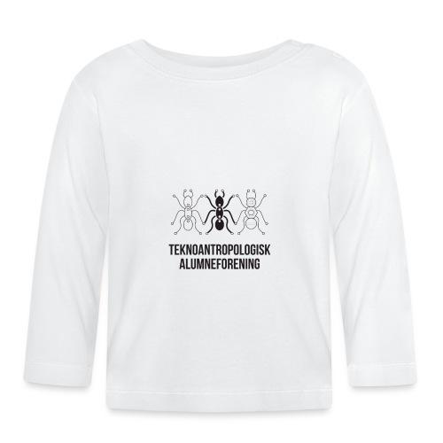 Teknoantropologisk Støtte T-shirt figur syet - Langærmet babyshirt
