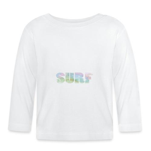 Surf summer beach T-shirt - Baby Long Sleeve T-Shirt