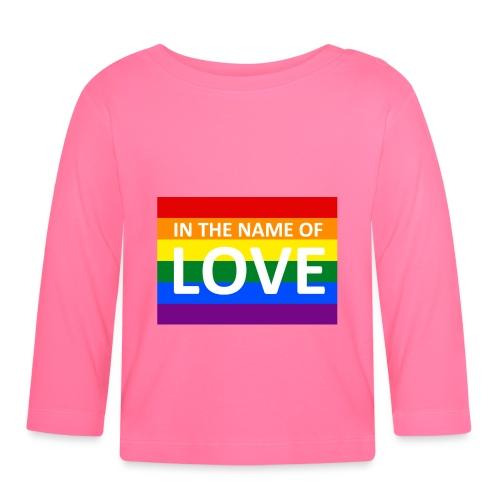 IN THE NAME OF LOVE - Langærmet babyshirt