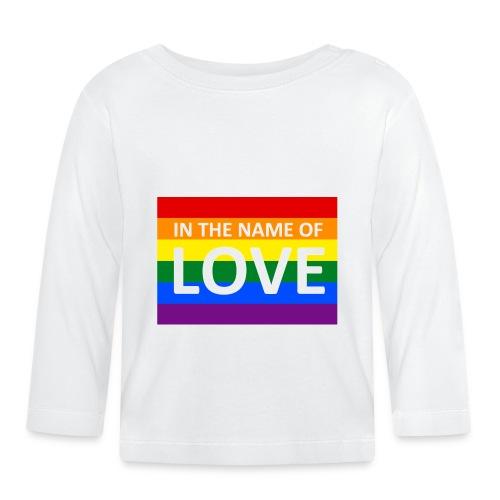 IN THE NAME OF LOVE CAP - Langærmet babyshirt