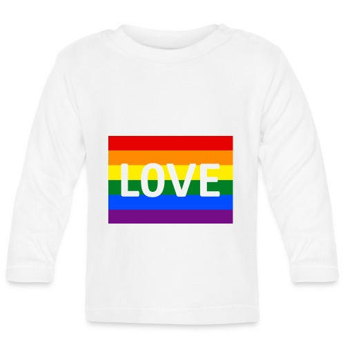 LOVE CAP - Langærmet babyshirt