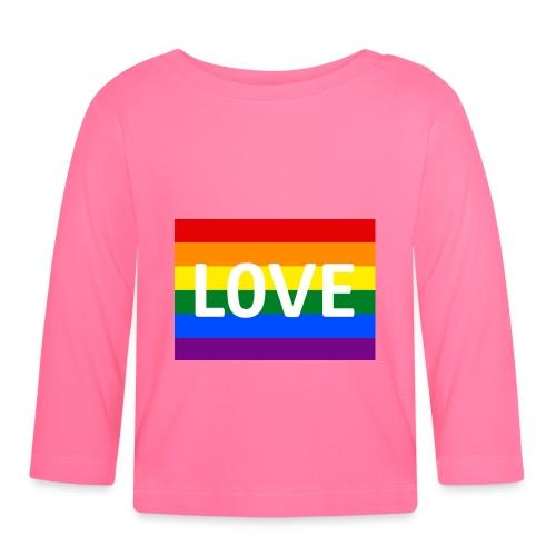 LOVE RETRO T-SHIRT - Langærmet babyshirt