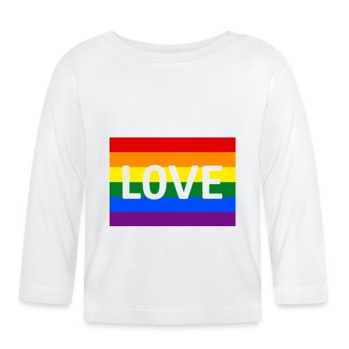 LOVE SHIRT - Langærmet babyshirt