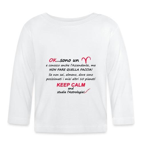 ARIETE - Maglietta a manica lunga per bambini