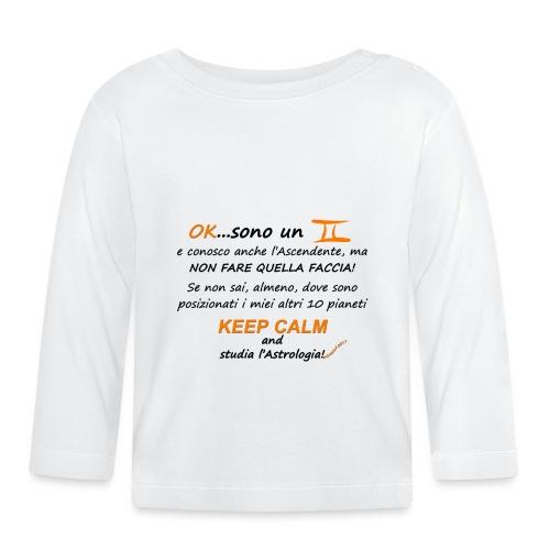 GEMELLI - Maglietta a manica lunga per bambini