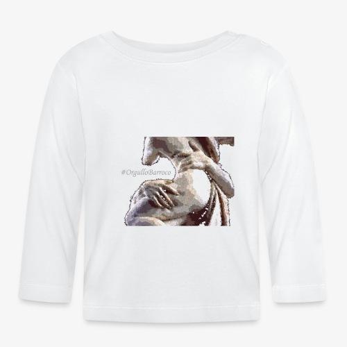#OrgulloBarroco Rapto difuminado - Camiseta manga larga bebé