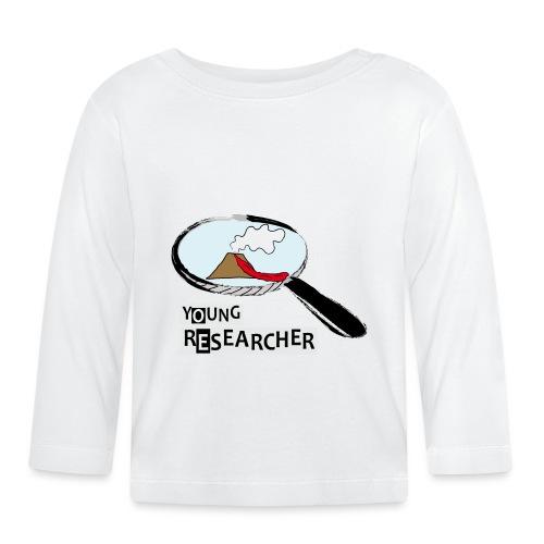 Young Researcher Volcano Wissenschaft - Baby Langarmshirt