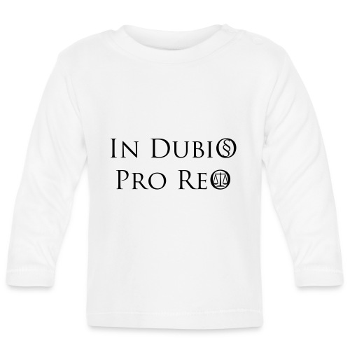 In Dubio pro Reo - Baby Langarmshirt