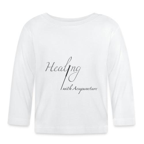 Healing with acupuncture - T-shirt manches longues Bébé