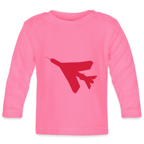 BAC English Electric Lightning Silhouette - Baby Long Sleeve T-Shirt