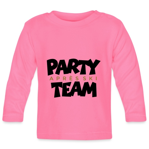 Après-Ski Party Team (zweifarbig) - Baby Langarmshirt