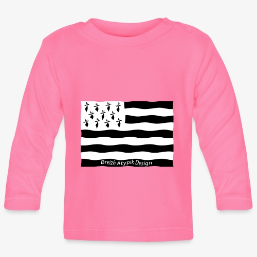 Gwenn ha Du B W - T-shirt manches longues Bébé