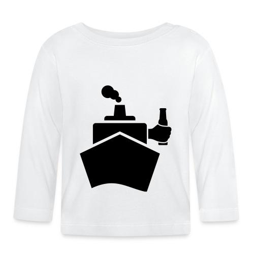 King of the boat - Baby Langarmshirt