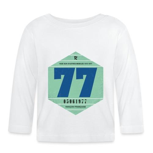 Vignette automobile 1977 - T-shirt manches longues Bébé