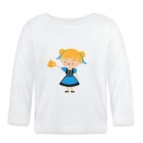 Happy Meitlis - Europa - Baby Langarmshirt