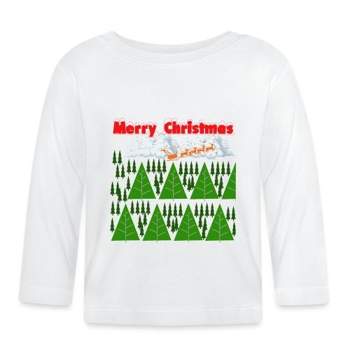 christmas time. Tempo di Natale - Maglietta a manica lunga per bambini
