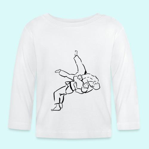 judo - T-shirt manches longues Bébé