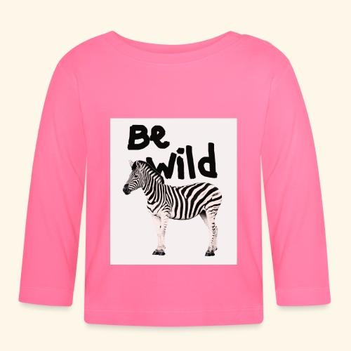 Be wild - Zebra ! - T-shirt manches longues Bébé