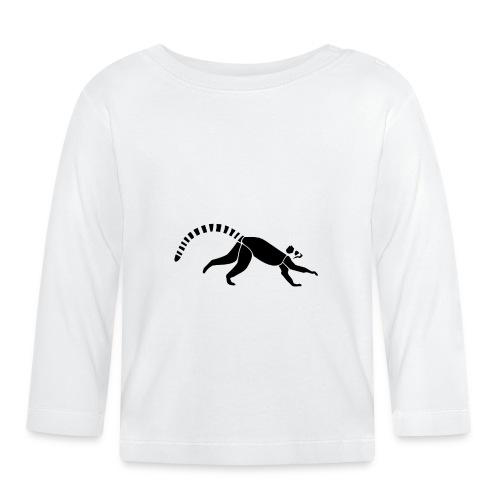 Lemur - Baby Langarmshirt