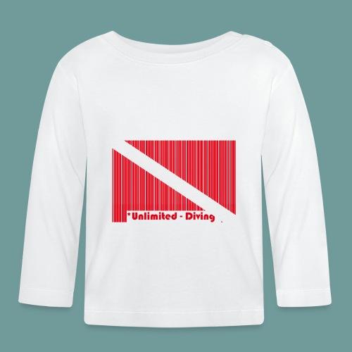 flag_barre_ud - T-shirt manches longues Bébé