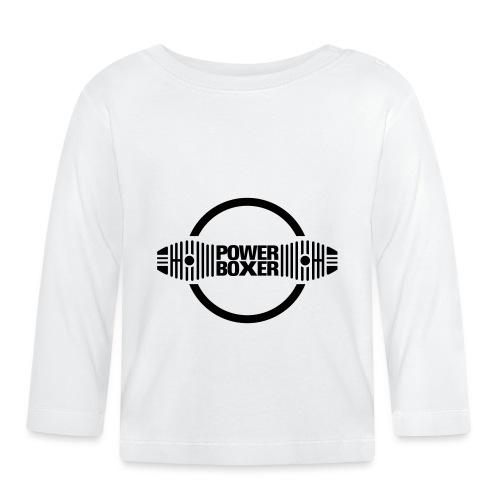 Motorrad Fahrer Shirt Powerboxer - Baby Langarmshirt