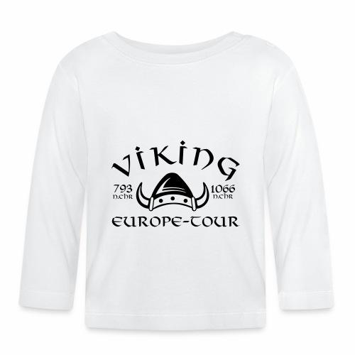 Viking-Europe-Tour front - Baby Langarmshirt