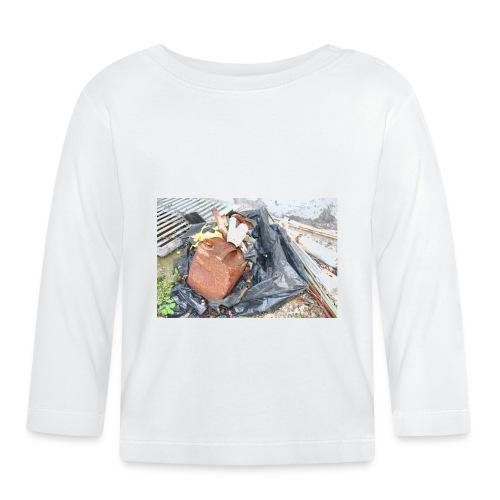 Trash 1 - Langærmet babyshirt