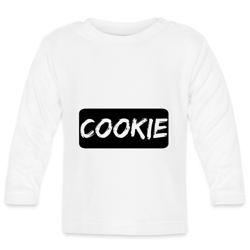 La galleta _-_ Negro - Camiseta manga larga bebé