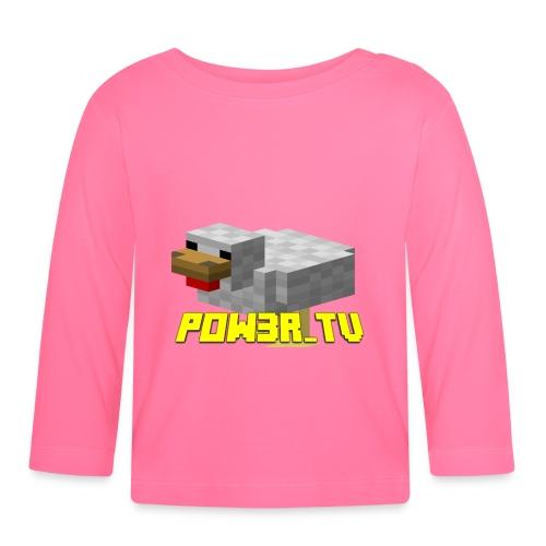 POW3R-IMMAGINE - Maglietta a manica lunga per bambini