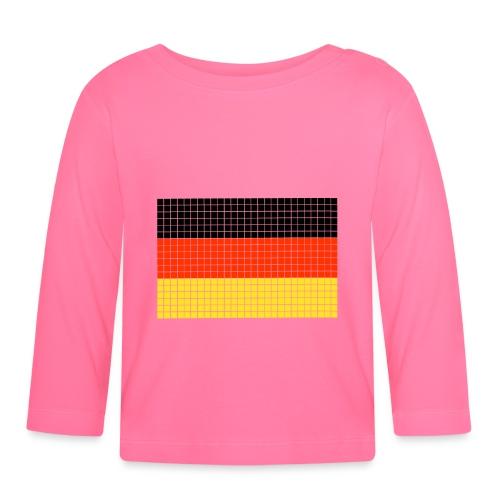 german flag.png - Maglietta a manica lunga per bambini