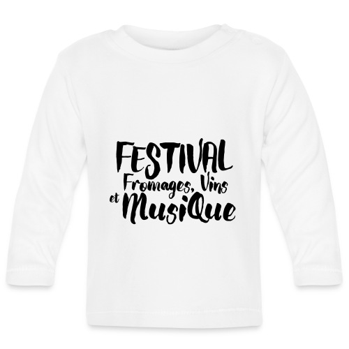 Festival FVM - T-shirt manches longues Bébé