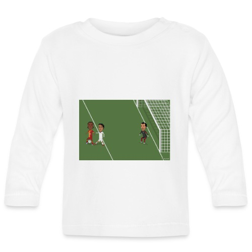 Backheel goal BG - Baby Long Sleeve T-Shirt