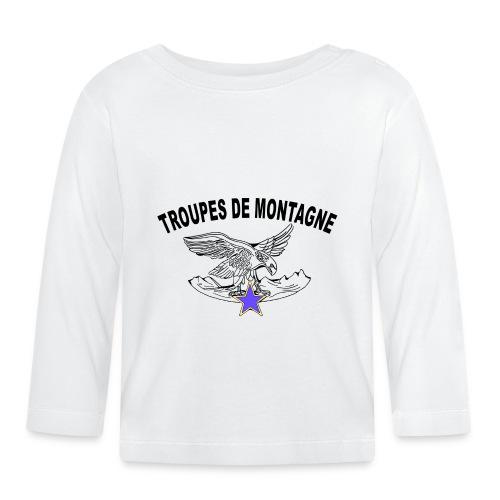 choucasTDM dos - T-shirt manches longues Bébé