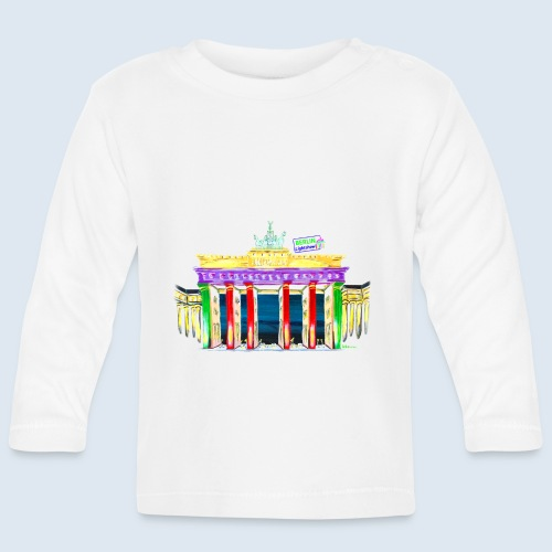 Neu! Brandenburger Tor/BerlinLightShow Collection - Baby Langarmshirt